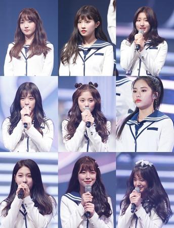 韓国Mnetのガールズグループ育成番組「アイドル学校」が終了した。約3か月間、熾烈な競争の末、計9人が「fromis」というグループでデビューすることになった。(提供:news1)