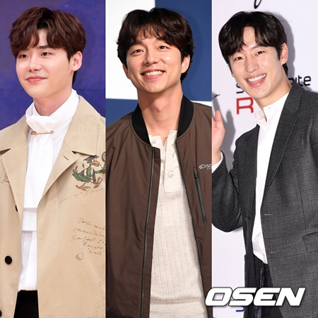 9月の韓国映画俳優ブランド評判ビックデータを分析した結果、俳優イ・ジョンソクが1位となり、コン・ユ、イ・ジェフンが後に続いた。(提供:OSEN)