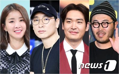 韓国女優イ・シヨン、俳優チョン・ギョウン、キム・ギバン、ラッパーのRhymerがそれぞれ、30日に結婚式を挙げる。(提供:news1)