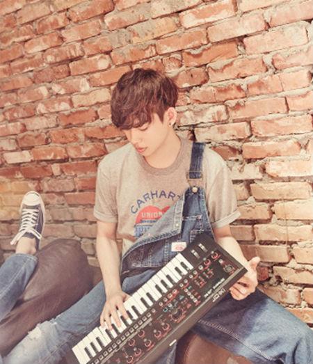 JYPのボーイズバンド「DAY6」の元メンバー、イム・ジュンヒョクが「THE UNIT」に出演する。(提供:OSEN)