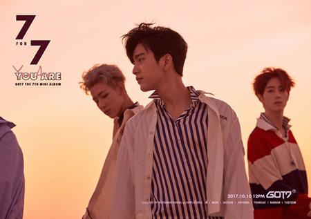 来る10日にニューアルバムを発表する韓国アイドルグループ「GOT7」が個人ティザーを順次公開する中、ジニョンのティザーでカムバックへの期待感を高めた。(提供:OSEN)