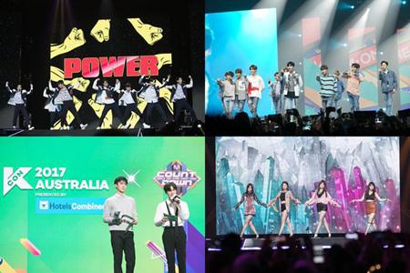 「EXO」、「Wanna One」、「Girl's Day」の豪KCONステージ、きょう(5日)放送(提供:OSEN)