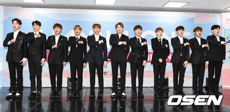韓国ボーイズグループ「Wanna One」のスーパースターの道は平坦なだけではなかった。絶えず騒動が起きている。(提供:OSEN)