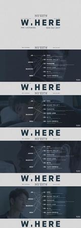 韓国ボーイズグループ「NU'EST W」が、ニューアルバム「W,HERE」のプレリスニング映像を公開した。(提供:OSEN)