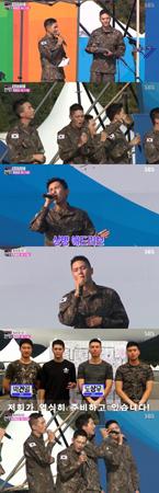 現在、軍服務中の韓国ボーイズグループ「ZE:A」のイム・シワン、「SUPER JUNIOR」のリョウク、「超新星」ゴニル、俳優チュウォン、イ・ジャンウらの近況が公開された。(提供:OSEN)