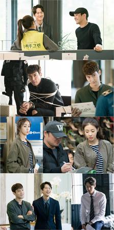 韓国新ドラマ「ピョン・ヒョクの愛」が、放送開始3日を前にして熱気あふれる和気あいあいとしたビハインドカットを公開した。(提供:news1)