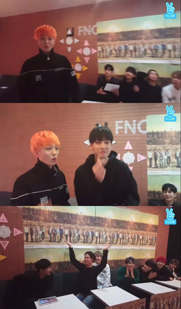 韓国ボーイズグループ「SF9」が、新曲発表前のネット放送でファンと交流を深めた。(提供:news1)