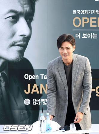 """韓国俳優チャン・ドンゴン(45)が「第22回釜山国際映画祭」(BIFF)の開幕式後、所属事務所仲間の「少女時代」ユナ(27)、「SHINee」ミンホ(25)と共に""""打ち上げ""""をおこなったと明かした。"""