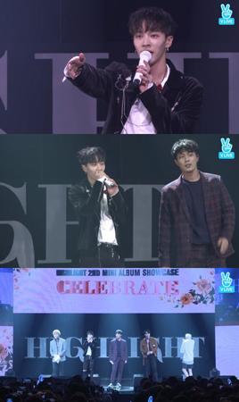 韓国ボーイズグループ「Highlight」が、「デビュー8周年を記念してプレゼントのようなアルバムにしたくて発売した」と2ndミニアルバムについて語った。(提供:OSEN)