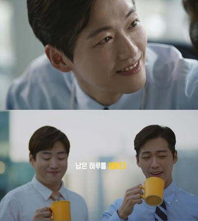 韓国俳優ナムグン・ミン(39)が、コーヒーの広告モデルに抜擢された。(提供:news1)