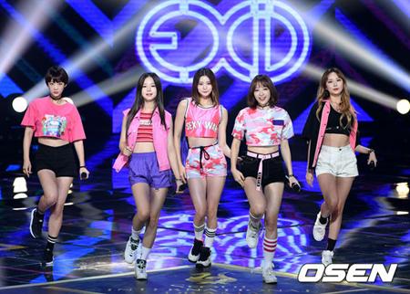 韓国ガールズグループ「EXID」が、ニューアルバムのスポイラー番組を配信した。(提供:OSEN)