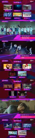「2017 Mnet Asian Music Awards」が候補者を発表した。17部門に92組の名が挙げられ、「Wanna One」や「防弾少年団」、「EXO」、「TWICE」は3部門にノミネートされ、最多部門候補者となった。(提供:OSEN)