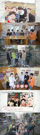 """韓国ボーイズグループ「JBJ」が日本でも""""ビーグル美""""を放った。(提供:OSEN)"""
