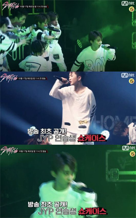 中国・Tencent(騰訊)ミュージックグループとJYPチャイナが合作ボーイズグループを披露した。Mnet「Stray Kids」に登場した最年少ジュニアグループ「ボーイストーリー」がその主人公だ。(提供:OSEN)