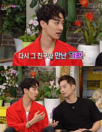 韓国アイドルグループ「Highlight」イ・ギグァン(27)が過去に交際中の恋人が浮気する現場を目撃したことがあると打ち明けた。(提供:OSEN)