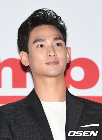 韓国俳優キム・スヒョン(29)が、静かに軍入隊するという意志を改めて明らかにした。(提供:OSEN)