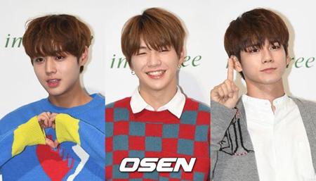 韓国ボーイズグループ個人ブランド評判2017年10月の1位は「Wanna One」カン・ダニエル、2位は「Wanna One」パク・ジフン、3位は「Wanna One」オン・ソンウと、「Wanna One」メンバーがそろった。(提供:OSEN)