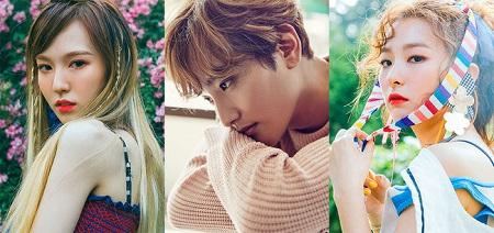 KANGTA&ウェンディ・スルギ(Red Velvet)、「Doll」をリメイク=27日に公開(提供:OSEN)