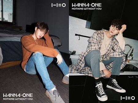 「Wanna One」キム・ジェファン&ファン・ミンヒョン、カムバックティザー写真公開! (提供:OSEN)