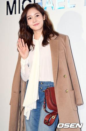 韓国女優ソン・ユリ(36)が、夢に向かっている青少年を応援する。(提供:OSEN)