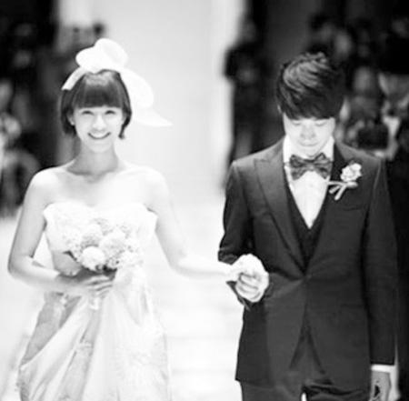 TABLO(EPIK HIGH)-女優カン・ヘジョン、結婚8周年迎える(提供:OSEN)