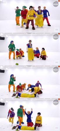 韓国ボーイズグループ「防弾少年団」が、ファンのためにハロウィーンイベント映像を公開した。(提供:OSEN)