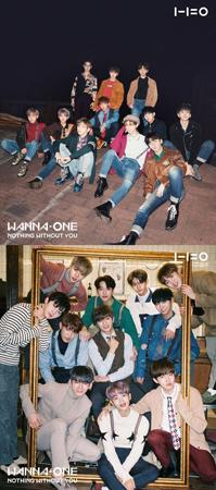 韓国アイドルグループ「Wanna One」が2種のアルバムジャケットを公開した。(提供:OSEN)
