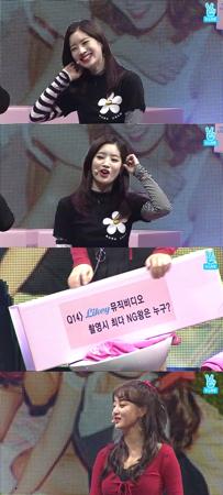 韓国ガールズグループ「TWICE」が、新曲「LIKEY」MV撮影の最多NGクイーンを選んだ。(提供:news1)