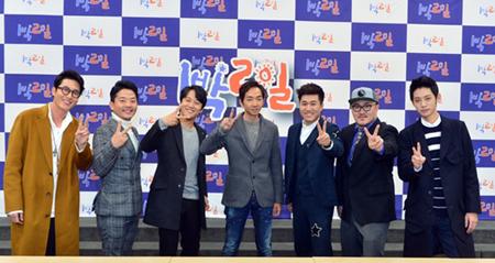 韓国バラエティ番組「1泊2日」が、俳優キム・ジュヒョクの死に哀悼の意を表した。(提供:OSEN)