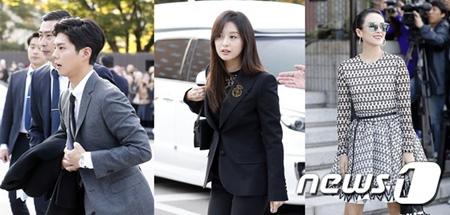 俳優ソン・ジュンギ&ソン・ヘギョ、豪華招待客の祝福の中結婚式