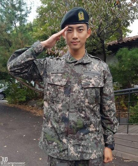 【公式】「2PM」テギョン、新兵教育隊助教・白馬部隊に自隊配置(提供:OSEN)