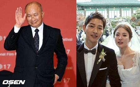中国のジョン・ウー監督、ソン・ヘギョの結婚をお祝い(提供:OSEN)