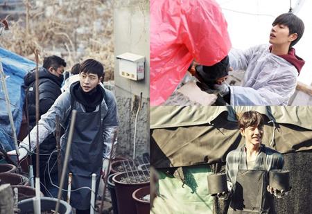 俳優パク・ヘジン、今冬も8年連続で練炭ボランティア活動(提供:news1)