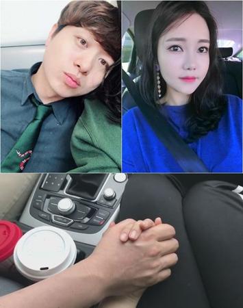 韓国の男性タレント、ユ・サンム(37)が作曲家キム・ヨンジ氏と熱愛中だ。(提供:OSEN)