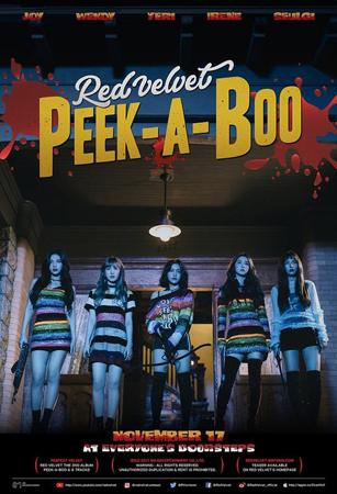 韓国ガールズグループ「Red Velvet」が新曲「Peek-A-Boo」でカムバックし、2017年の歌謡界を再び華やかに作り上げる。(提供:OSEN)