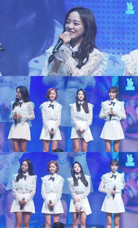 韓国ガールズグループ「gugudan」がショーケースでファンとの時間を楽しんだ。(提供:news1)