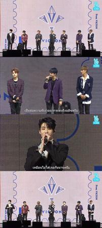 韓国ボーイズグループ「VICTON」が「1年ぶりに会うようだ」とファンにあいさつした。(提供:OSEN)