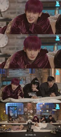 韓国ボーイズグループ「MONSTA X」メンバーのウォノが「心配しなくてもいいほど大丈夫」と伝えた。(提供:OSEN)