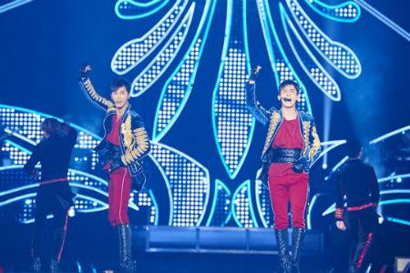 「東方神起」が3度目の日本5大ドームツアーの幕を開けた。(提供:OSEN)