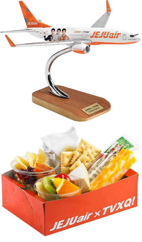 チェジュ航空、「東方神起」チャンミンモデルプレーン&機内食セット販売へ…マーケティング本格化(オフィシャル)