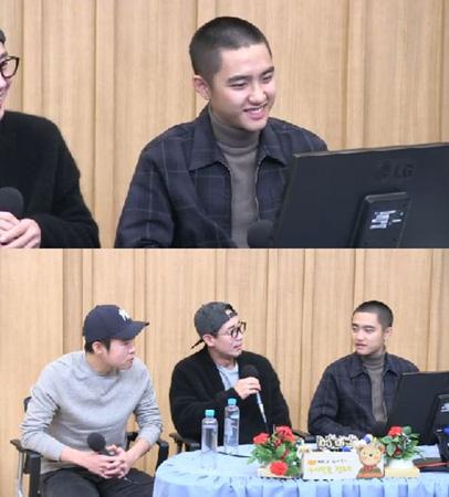 韓国アイドルグループ「EXO」D.O.(24、本名:ト・ギョンス)が酒量について明かした。(提供:OSEN)