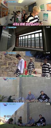韓国ボーイズグループ「WINNER」が、刑務所に寝泊まりすることになった。(提供:OSEN)