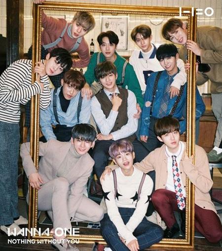 韓国アイドルグループ「Wanna One」がデビュー101日でミリオンセラーを達成したことがわかった。(提供:OSEN)