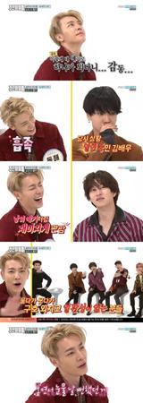 韓国ボーイズグループ「SUPER JUNIOR」の中で泣き虫なメンバーについてエピソードが語られた。(提供:OSEN)