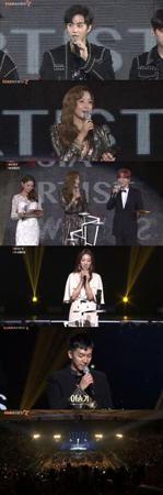韓国ボーイズグループ「EXO」と女優キム・ヒソンが、大賞を受賞した。(提供:news1)