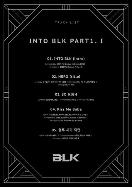 """6人組""""アクロバティックグループ""""の「BLK」、28日デビューへ(提供:OSEN)"""