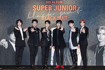 「SUPER JUNIOR」、台湾・香港・シンガポールのチャートで1位獲得! (提供:OSEN)
