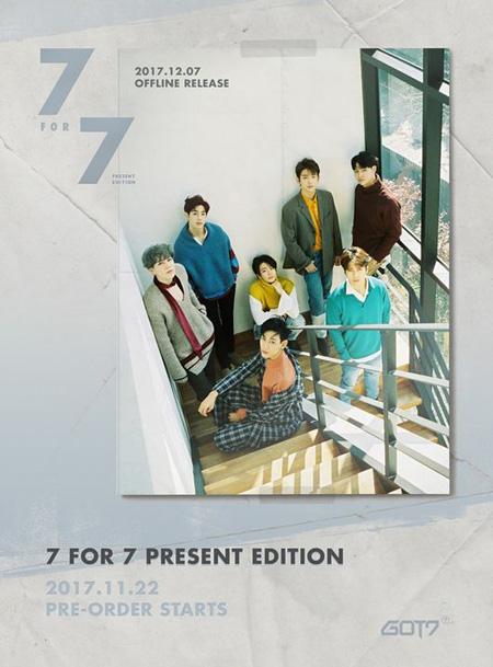 【公式】「GOT7」、12月7日に完全体カムバック=リパッケージアルバムを発表(提供:OSEN)