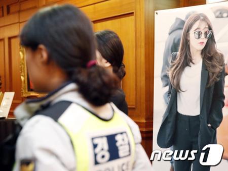 韓国ガールズグループ「Apink」チョン・ウンジ(24)が出席するJTBC金土ドラマ「アンタッチャブル」の制作発表会に爆発物に関する通報があり、警察が出動した。