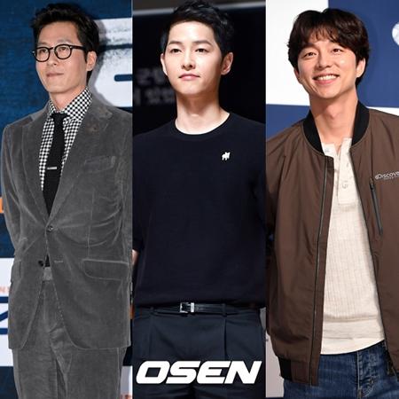 11月の韓国映画俳優ブランド評判ビックデータを分析した結果、俳優キム・ジュヒョクが1位となり、ソン・ジュンギ、コン・ユが後に続いた。(提供:OSEN)